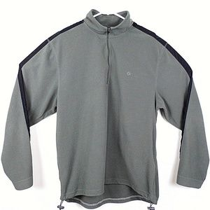Men's Old Navy Outdoor Gray Fleece Jacket XL   K12